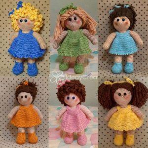 mariquillas muñecas amigurumis personalizadas ideaycrea